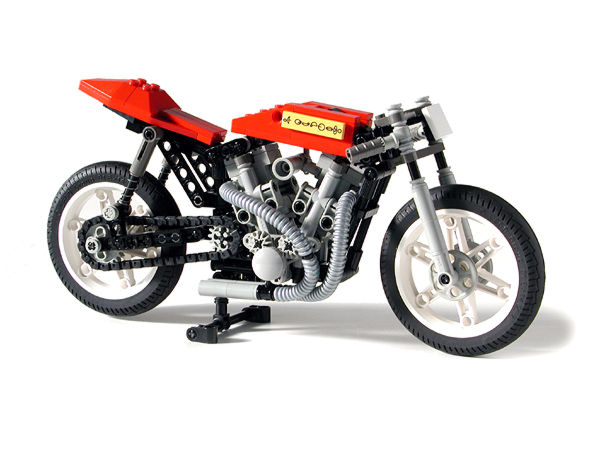 lego technic motorbike 8051 instructions