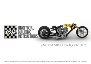 0937 UNOFFICIAL BUILDING INSTRUCTIONS, Z-MCY-14 STREET DRAG RACER 2